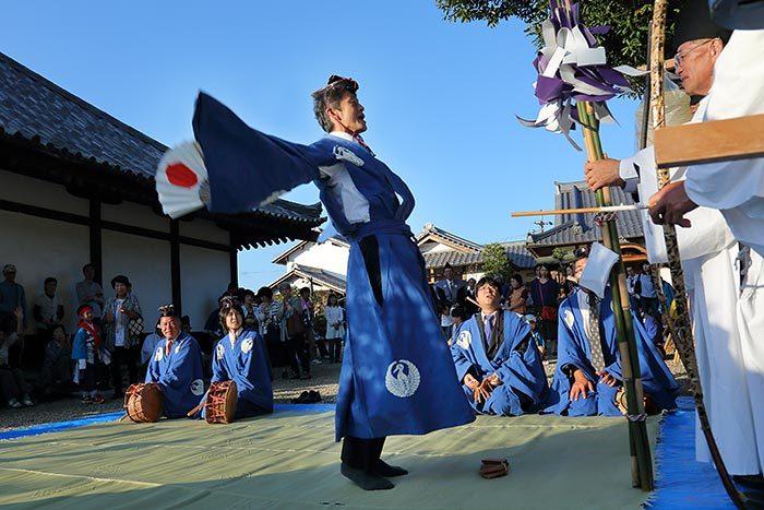 阪原長尾神社 秋祭り2