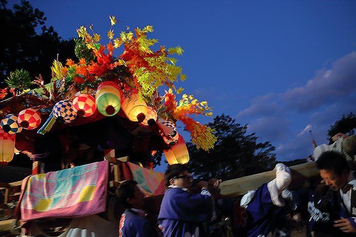 阪原長尾神社 秋祭り5