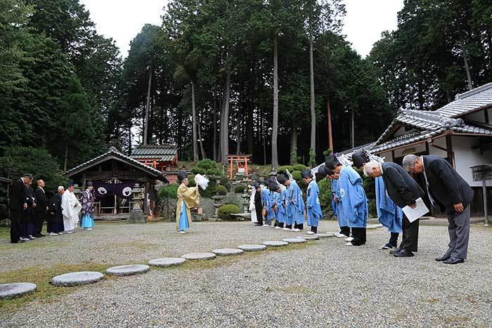 大保八坂神社 氏子祭1