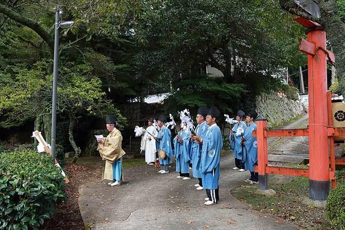 大保八坂神社 氏子祭4