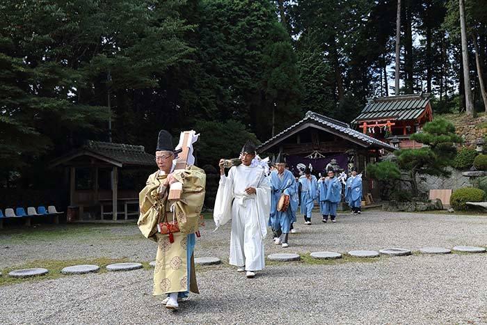 大保八坂神社 氏子祭2
