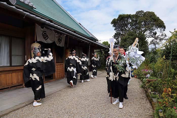 柳生八坂神社 宮座行事1