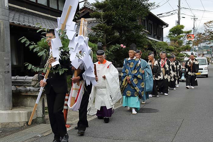柳生八坂神社 宮座行事2