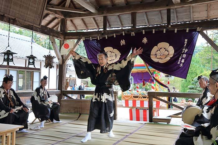 柳生八坂神社 宮座行事6
