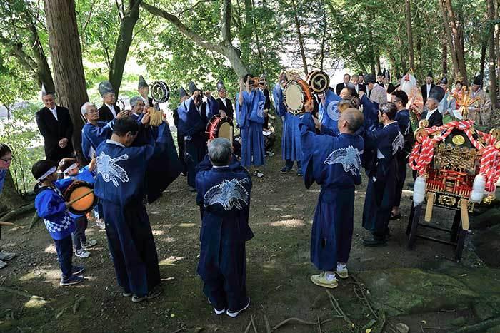 狭川九頭神社 神事芸能3