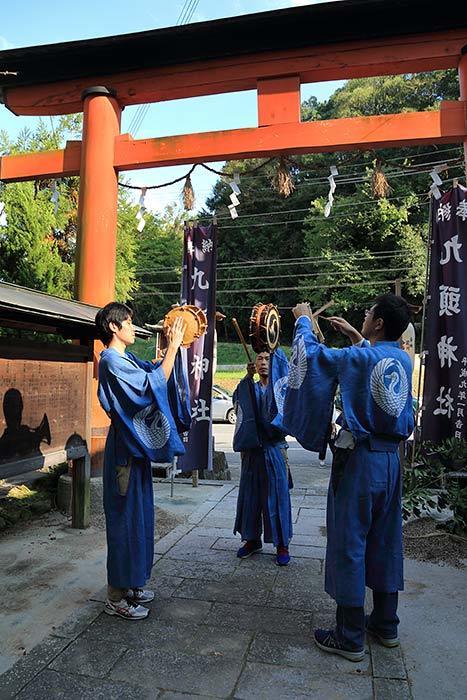 狭川九頭神社 神事芸能5