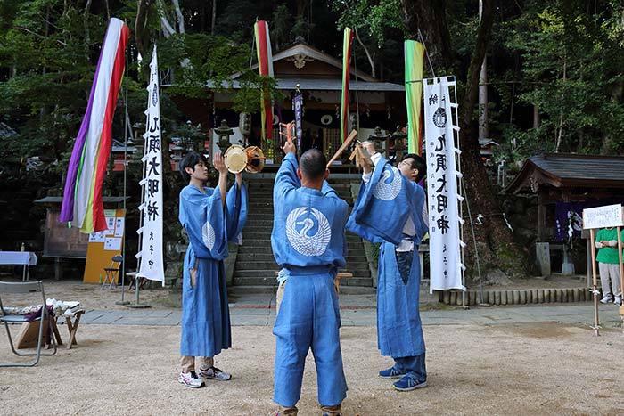狭川九頭神社 神事芸能6