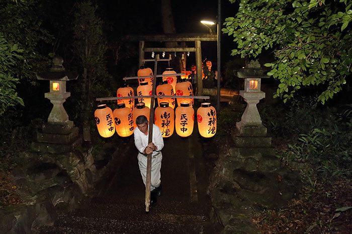 東阿田八幡神社 宵宮祭1