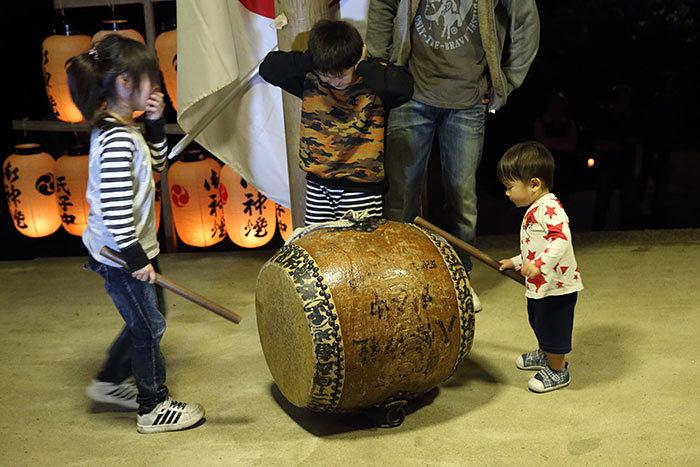 東阿田八幡神社 宵宮祭5