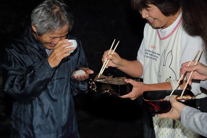 東阿田八幡神社 宵宮祭4