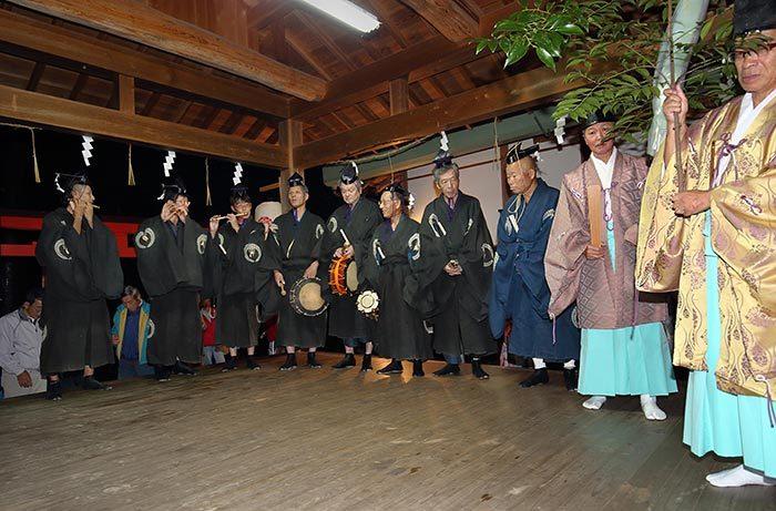 丹生神社 宵宮祭/ヨコトビ・スモウ1
