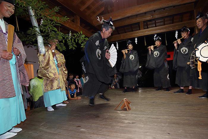 丹生神社 宵宮祭/ヨコトビ・スモウ2