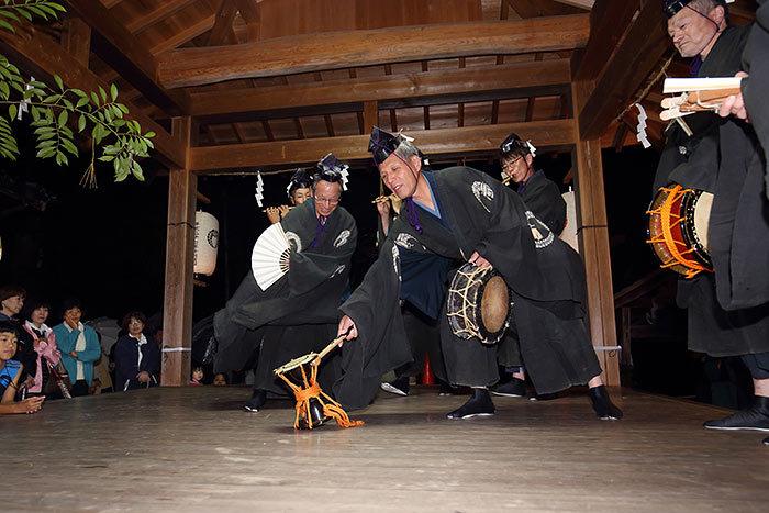 丹生神社 宵宮祭/ヨコトビ・スモウ3