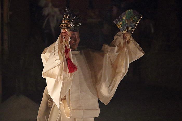 おん祭 お旅所祭 神楽式3