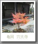 亀岡 穴太寺