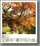 嵐山 宝厳院「獅子吼(ししく)の庭」