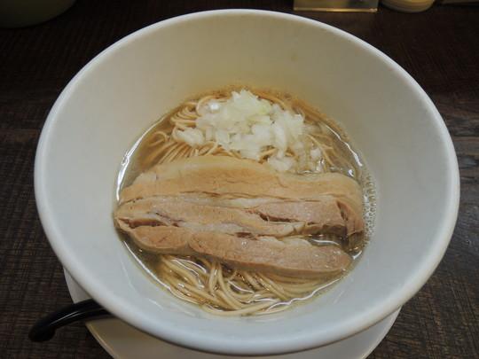 淡麗煮干ラーメン(750円)