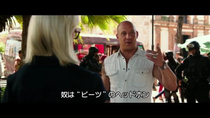 xXx-Vin Diesel as bourne
