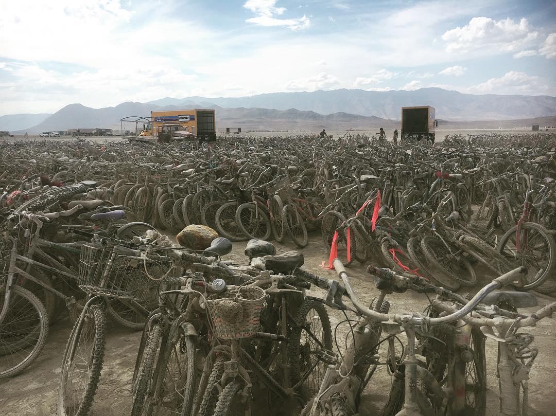自転車の墓場