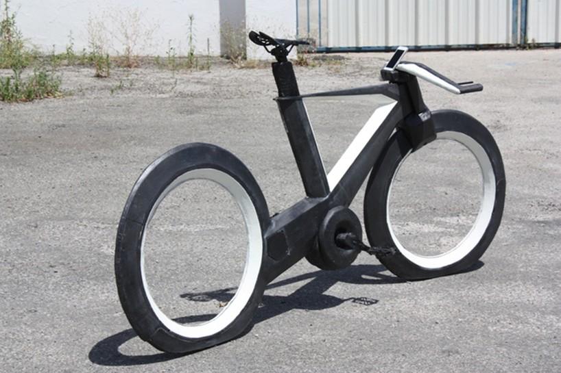 スポークレスバイク