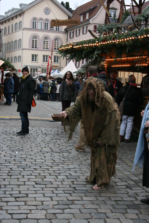 中世の乞食