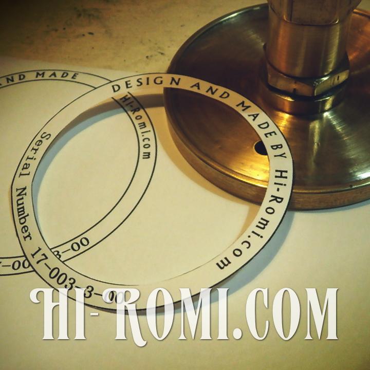 Hi-Romi.com(ハイロミ)オリジナル照明のタグ。