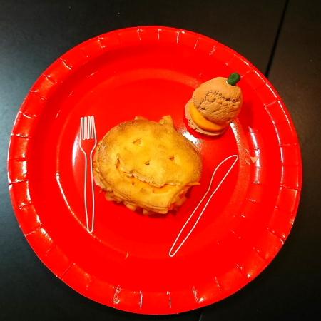 パンプキンパイとかぼちゃのシュークリーム