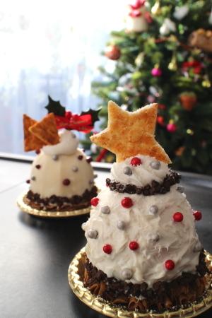 クリスマスホワイトケーキ
