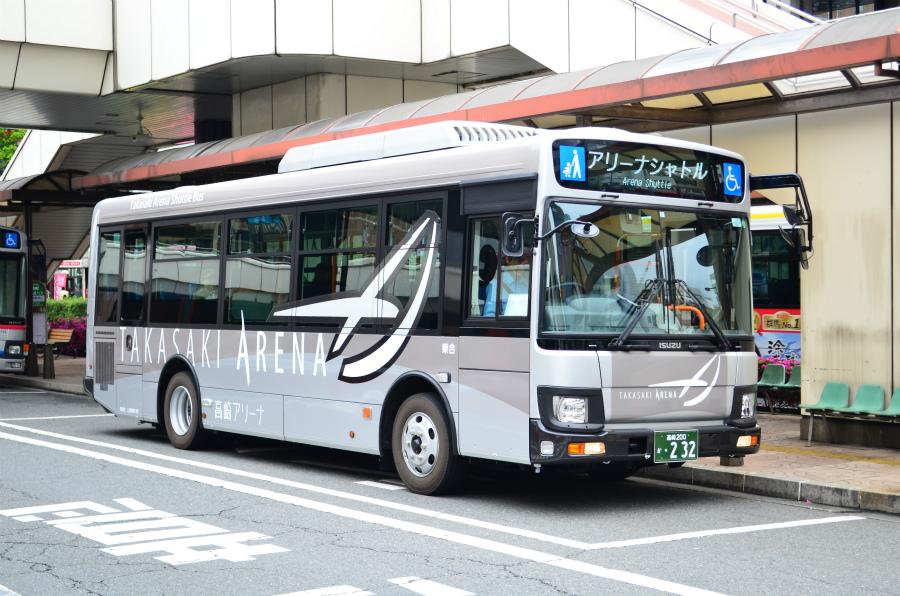 上信電鉄 高崎200か232(高崎アリーナシャトル)
