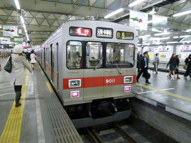 旧渋谷駅と小田急地下化...