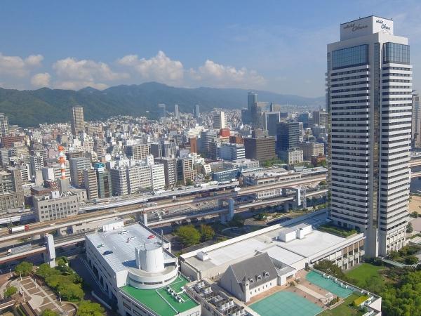 神戸ポートタワー展望台から見た風景4〔フリー写真〕