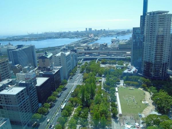 神戸市役所展望ロビーから見た風景1〔フリー写真〕