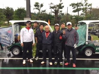 ゴルフ記念写真