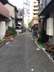 松崎前面道路