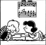シュローダーとルーシー