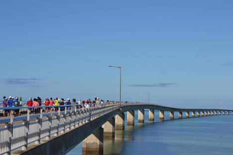 第9回エコアイランド宮古島マラソン けんけん堂 伊良部大橋