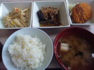 神戸学院学食 180111