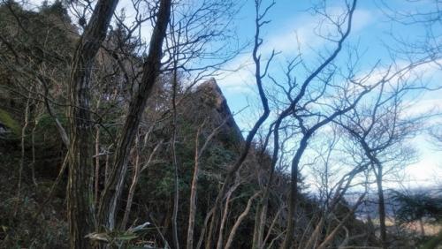 御岩山の霊峰