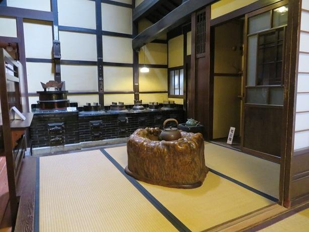 近江日野商人ふるさと館 台所