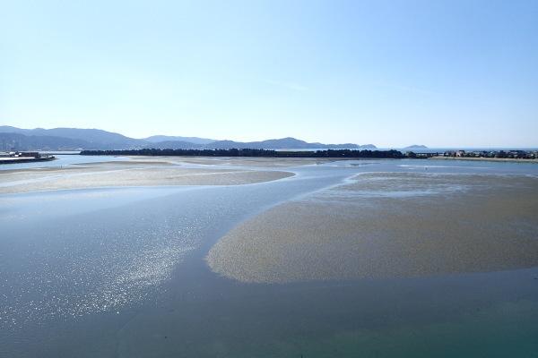 玉津島保存会 和歌の浦 干潟