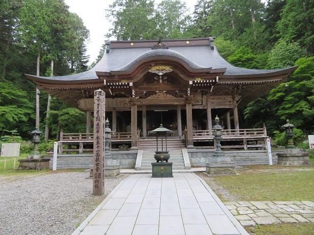 仲仙寺本堂
