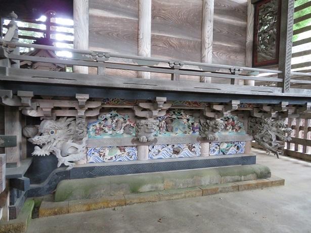 熱田神社 本殿彫刻