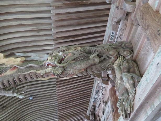 光前寺 本堂の彫刻