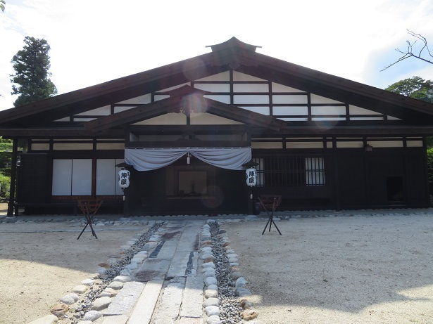 飯島陣屋跡