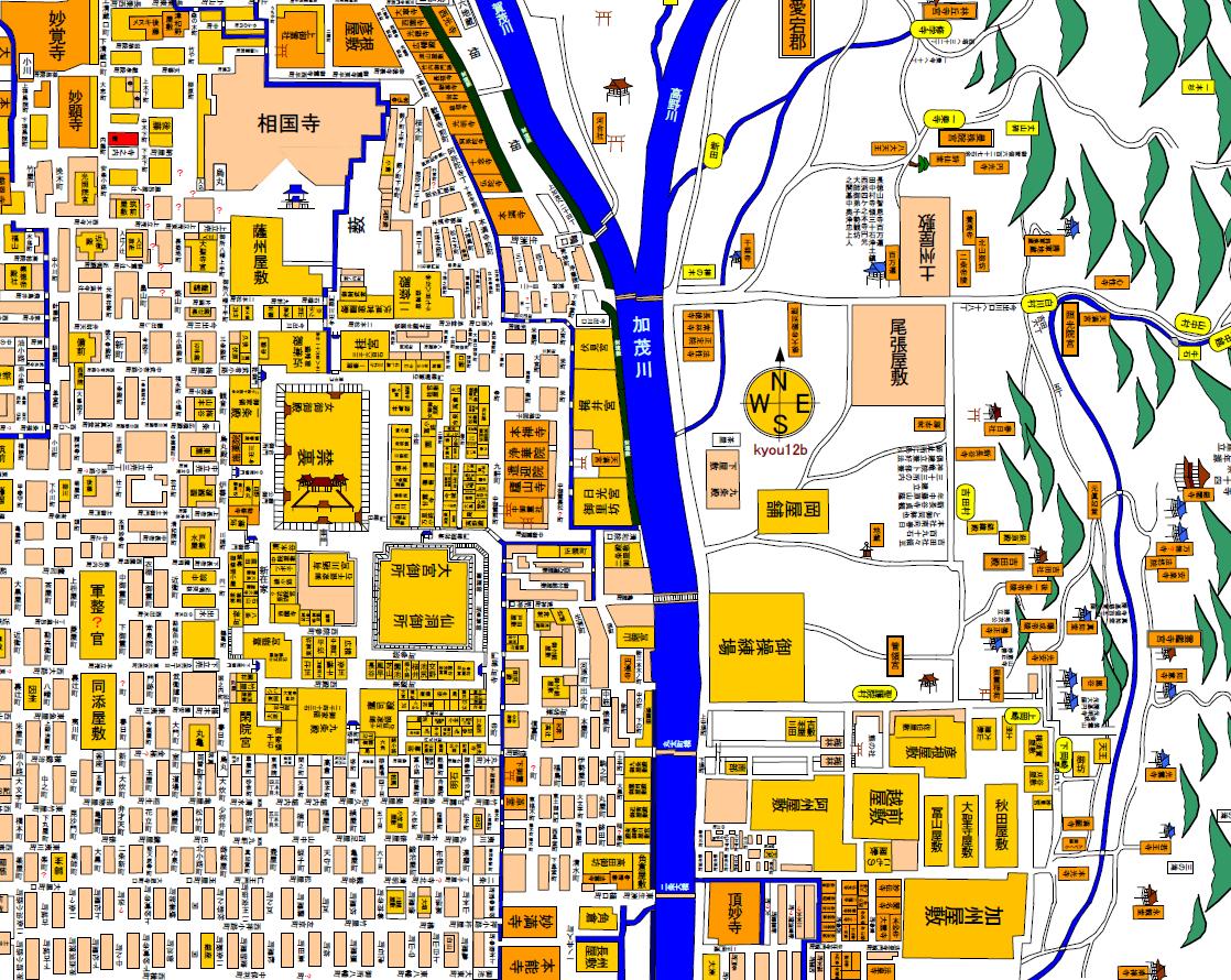 幕末京都地図