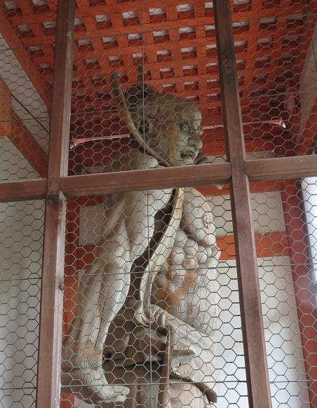龍泉寺 仁王像
