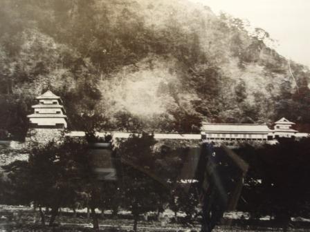 鳥取城の二の丸古写真