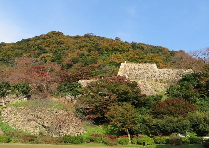 鳥取城石垣