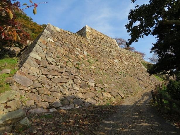鳥取城 石垣2