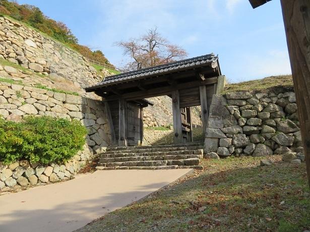 鳥取城 中仕切門